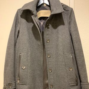 Burberry Wool Coat (size 6)